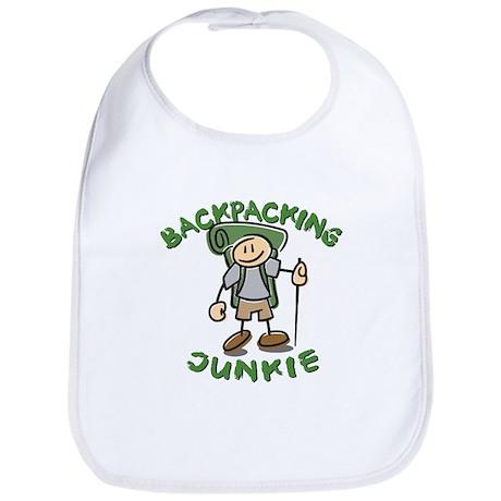 Backpacking Junkie Boy Bib