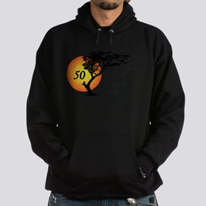 50 isn't old if you're a tree Hoodie (dark)
