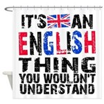 EnglishThing Shower Curtain