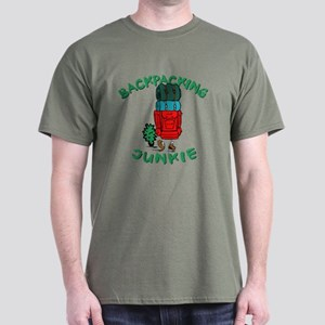 Backpacking Junkie Dark T-Shirt