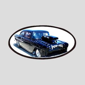 Black POW Classic Car Patches