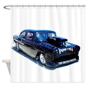 Race Car Shower Curtains