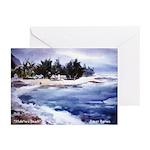 Haleiwa Beach Greeting Cards