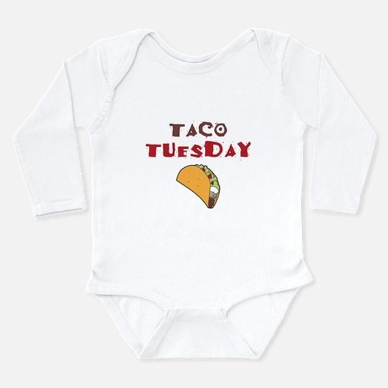 Taco Tuesday Long Sleeve Infant Bodysuit