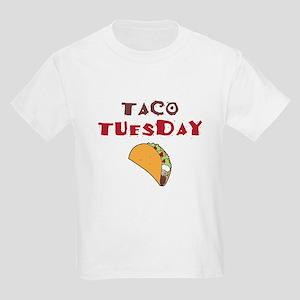 Taco Tuesday Kids Light T-Shirt