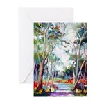 Ohia Forest Greeting Cards