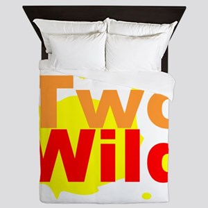 Two Wild Queen Duvet