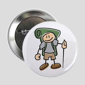 """Happy Hiker Boy 2.25"""" Button"""
