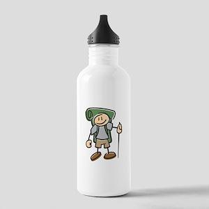 Happy Hiker Boy Stainless Water Bottle 1.0L