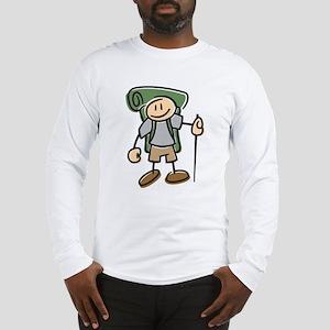 Happy Hiker Boy Long Sleeve T-Shirt
