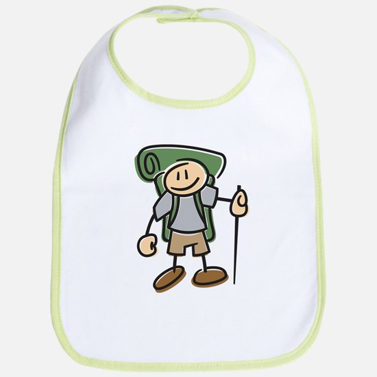 Happy Hiker Boy Bib