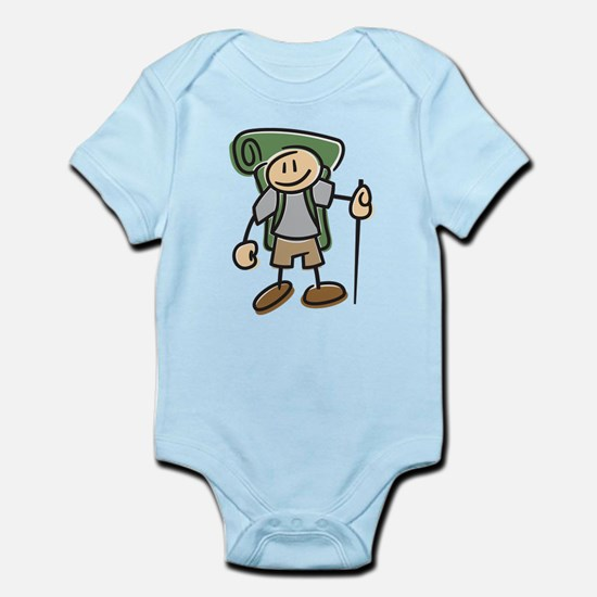 Happy Hiker Boy Infant Bodysuit
