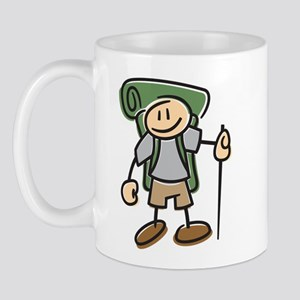 Happy Hiker Boy Mug
