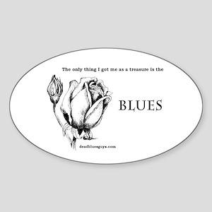 Treasure Oval Sticker