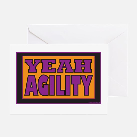 YEAH Agility Greeting Cards (Pk of 10)