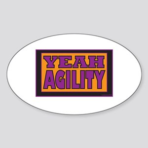 YEAH Agility Sticker (Oval)