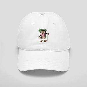 Happy Hiker Girl Cap