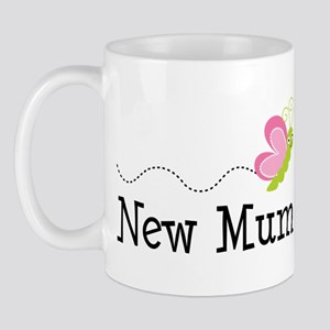 New Mum Butterfly Mug