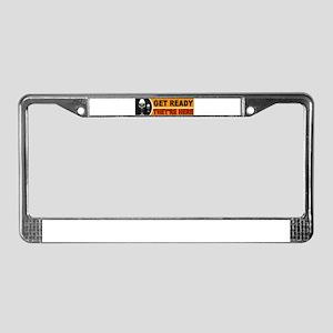 ALIEN BUMPER_001 License Plate Frame