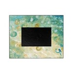Sand and Surf Abstract Picture Frame