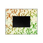 Abstract Arabic Design Picture Frame