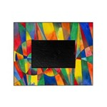 Color Shards Watercolor Picture Frame