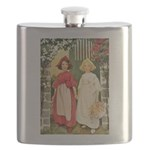 Snow White & Rose Red Flask