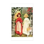 Snow White & Rose Red Sticker (Rectangle 50 pk)