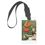 The Goose Girl Large Luggage Tag