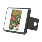 The Goose Girl Rectangular Hitch Cover
