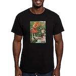 The Goose Girl Men's Fitted T-Shirt (dark)