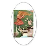 The Goose Girl Sticker (Oval)