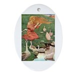 The Goose Girl Ornament (Oval)