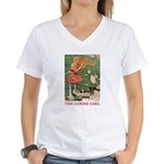 The Goose Girl Women's V-Neck T-Shirt