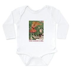 The Goose Girl Long Sleeve Infant Bodysuit