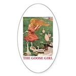 The Goose Girl Sticker (Oval 10 pk)