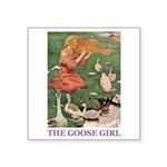 The Goose Girl Square Sticker 3