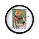 The Goose Girl Wall Clock