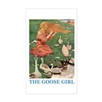 The Goose Girl Sticker (Rectangle)