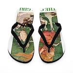 The Goose Girl Flip Flops
