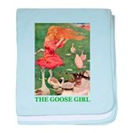 The Goose Girl baby blanket