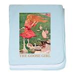 The Goose Girl baby blanket