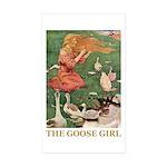 The Goose Girl Sticker (Rectangle 50 pk)