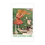 The Goose Girl Sticker (Rectangle)