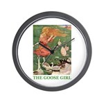 The Goose Girl Wall Clock