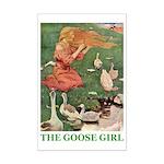 The Goose Girl Mini Poster Print