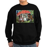 Gnome Outside his Toadstool Cottage Sweatshirt (da