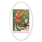 The Goose Girl Sticker (Oval 10 pk)