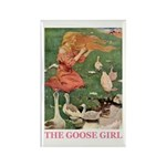 The Goose Girl Rectangle Magnet (100 pack)