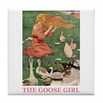 The Goose Girl Tile Coaster